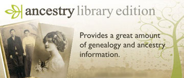 Ancestry Library Edition resource logo