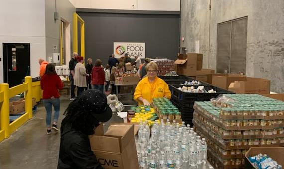 Arkansas Baptist Disaster Relief volunteers