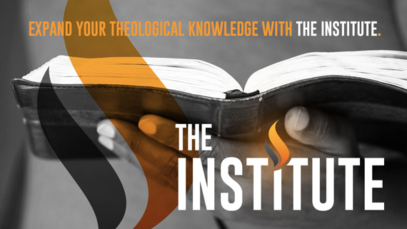 The Institute—A New Name and New Vision