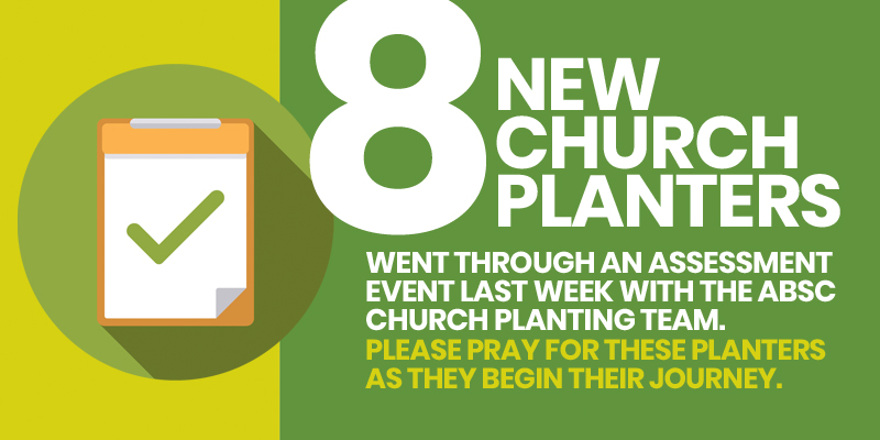 8 new ABSC church planters