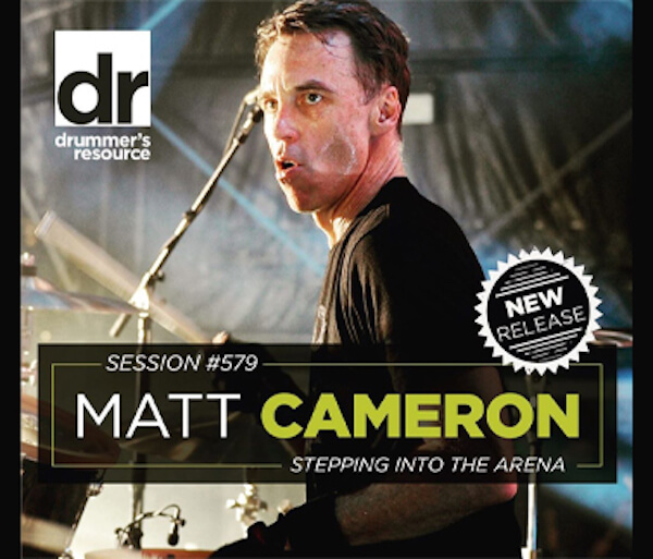 Image of Matt Cameron on Drummers Resource Podcast