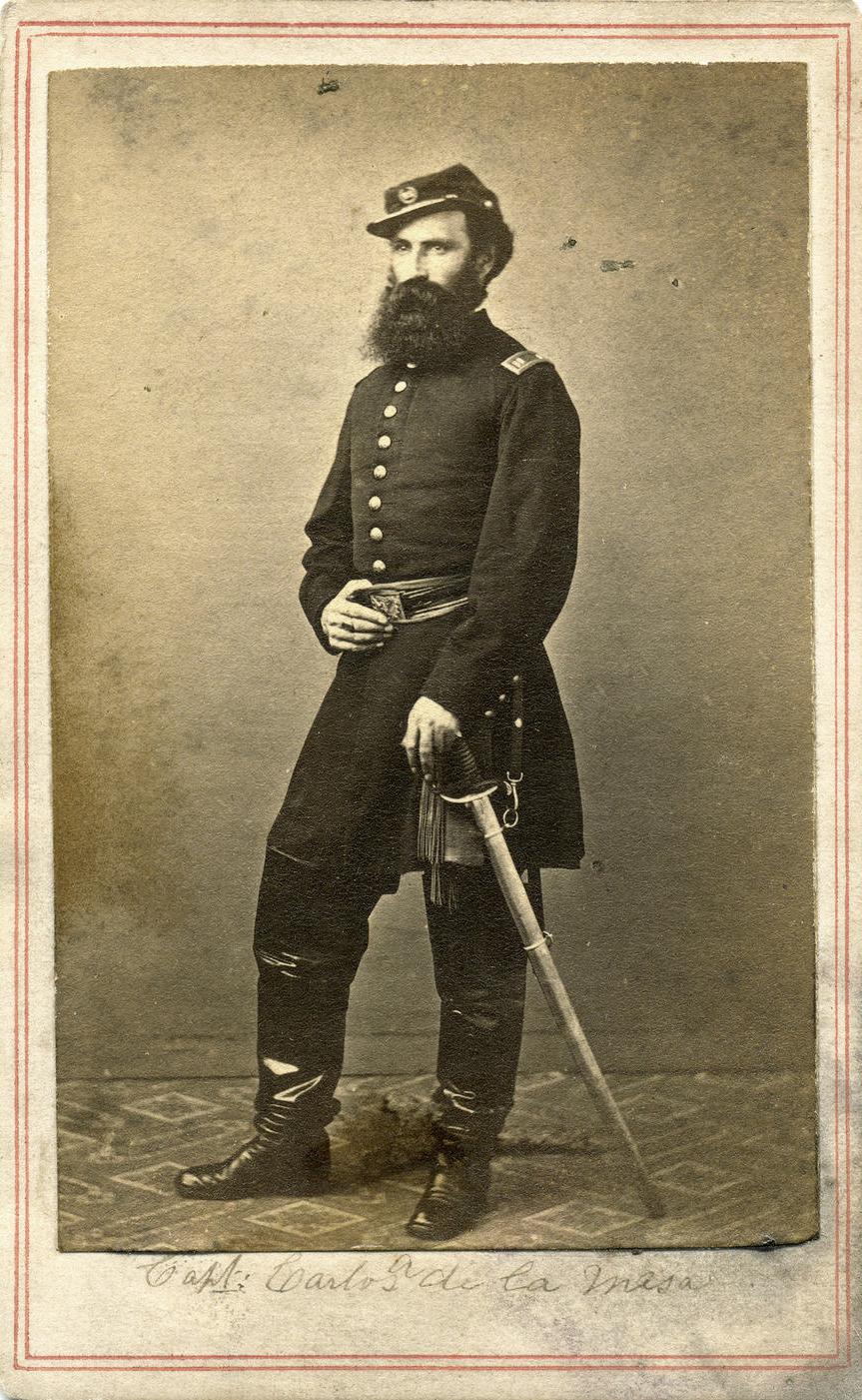 Allen's grandfather, Captain Carlos de la Mesa(Photo: New York State Military Museum)