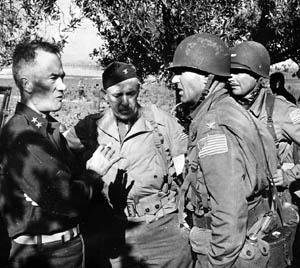 Allen (left) in North Africa(Photo: U.S. military)