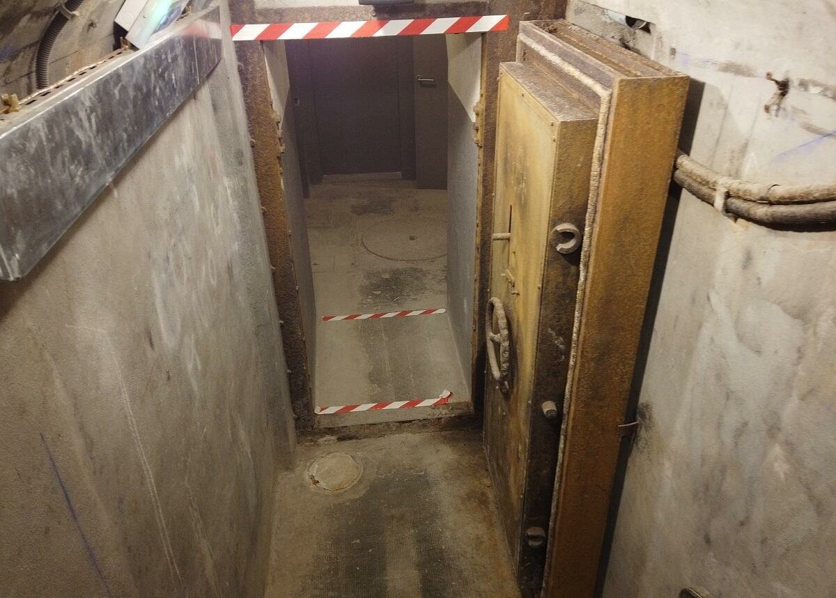 The entrance to Colonel Rol's command bunker under the museum(Photo: RFI /I. Martinetti)