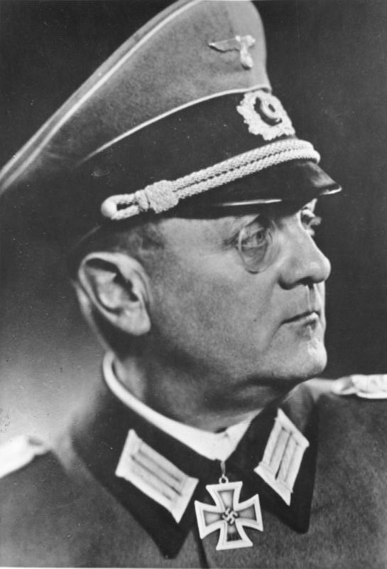 General Von Choltitz, the German commander of Paris(Photo: Bundesarchiv)