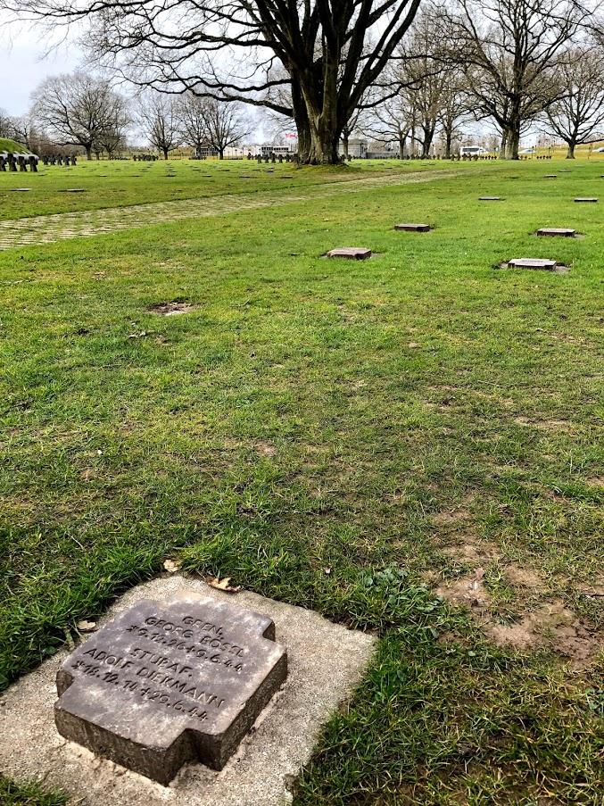 Adolf Diekmann's grave at La Cambe (Photo: Author's own)