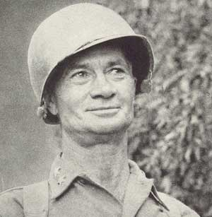 General Terry Allen(Photo: weaponsandwarfare.com)