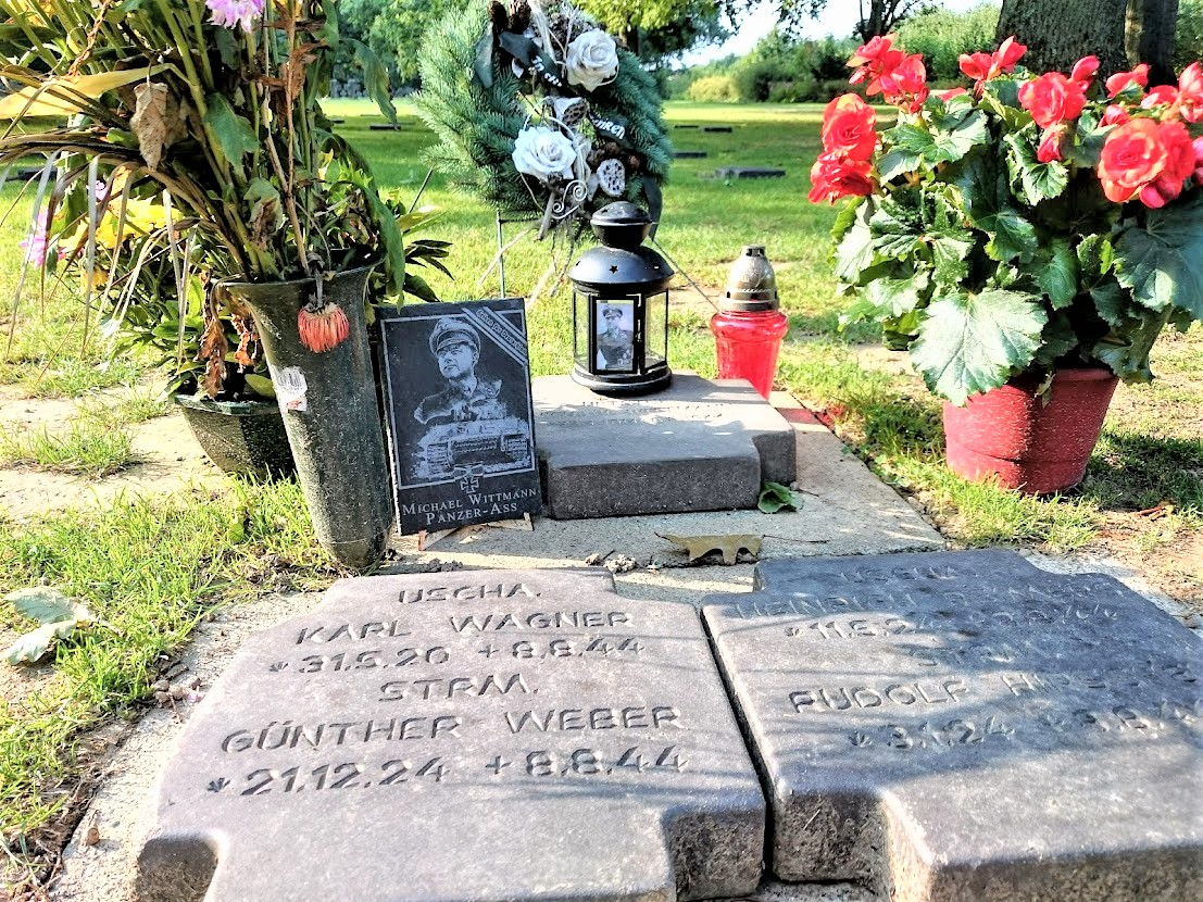 Michael Wittmann's grave at La Cambe (Photo: Author's own)