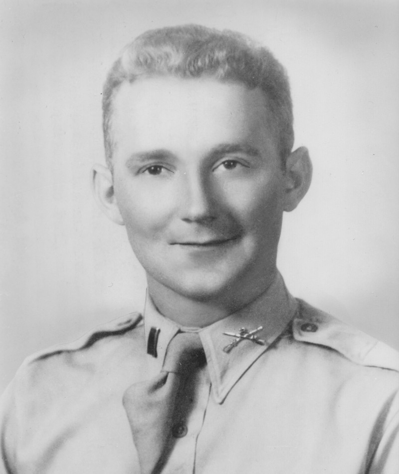 Bernard J. Ray, one of the men who received a posthumous Medal of Honor for their actions during the battle. (Photo: cmohs.org)