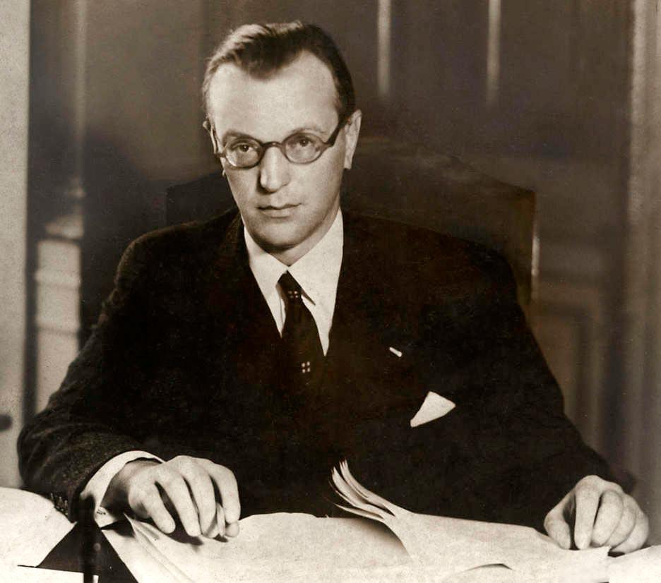 Arthur Seyss-Inquart in Vienna in 1940(Photo: Wikipedia)