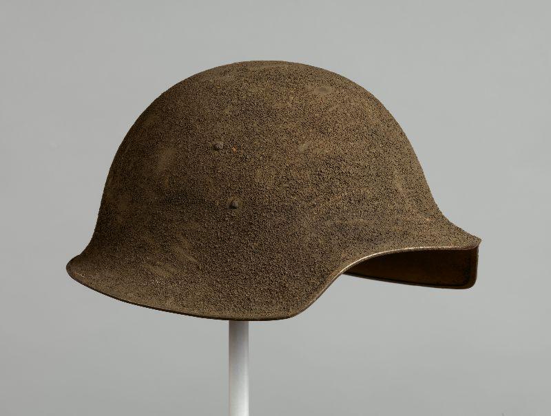 The American Model No.5 helmet developed by Bashford Dean(Photo: Metropolitan Museum of Art)