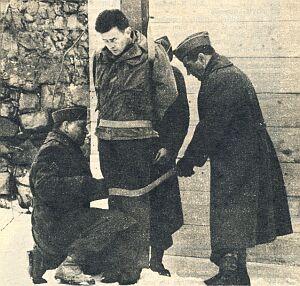 Eddie Slovik's execution(Photo: U.S. military)