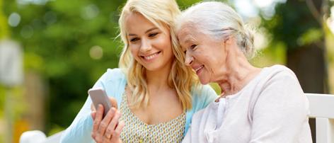 Mobil telefoni til ældre