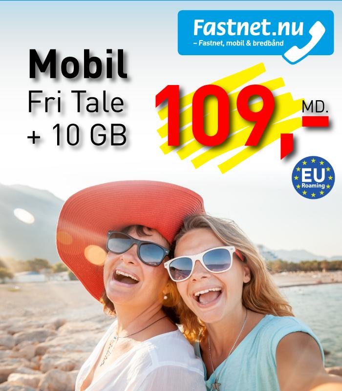 Fastnet.nu Fri tale + 10 GB