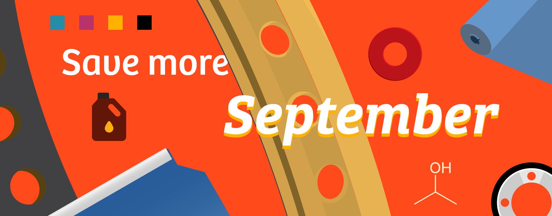 Save more September