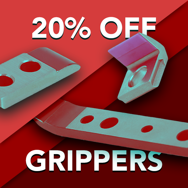 20% OFF Heidelberg Grippers & Pads
