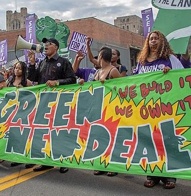 demo for green new deal