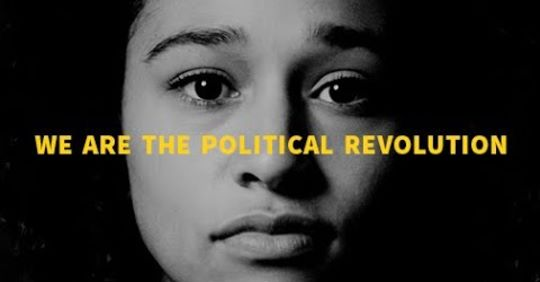 """Young Person """"We are the political revolution"""""""