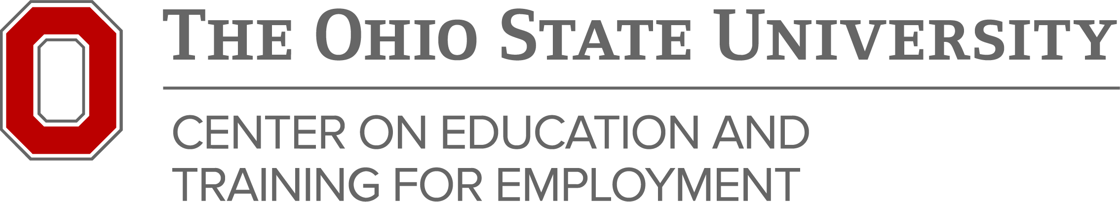 The Ohio State University Center on Education and Training for Employment logo