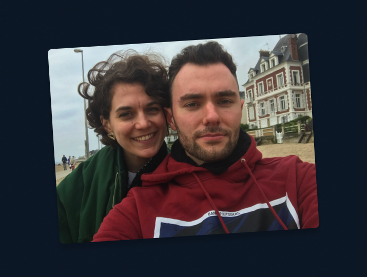lucie and Dagobert vacation normandy