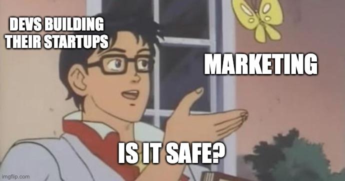 meme founders product vs marketing