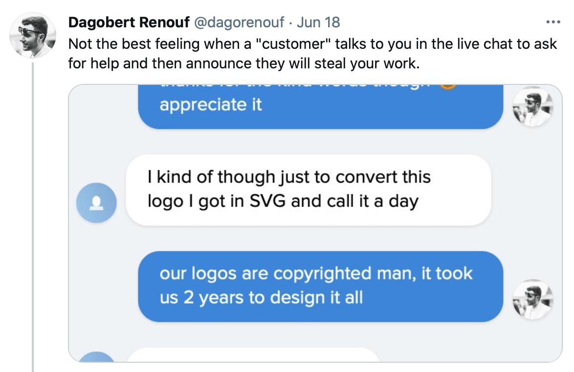 tweet screencap
