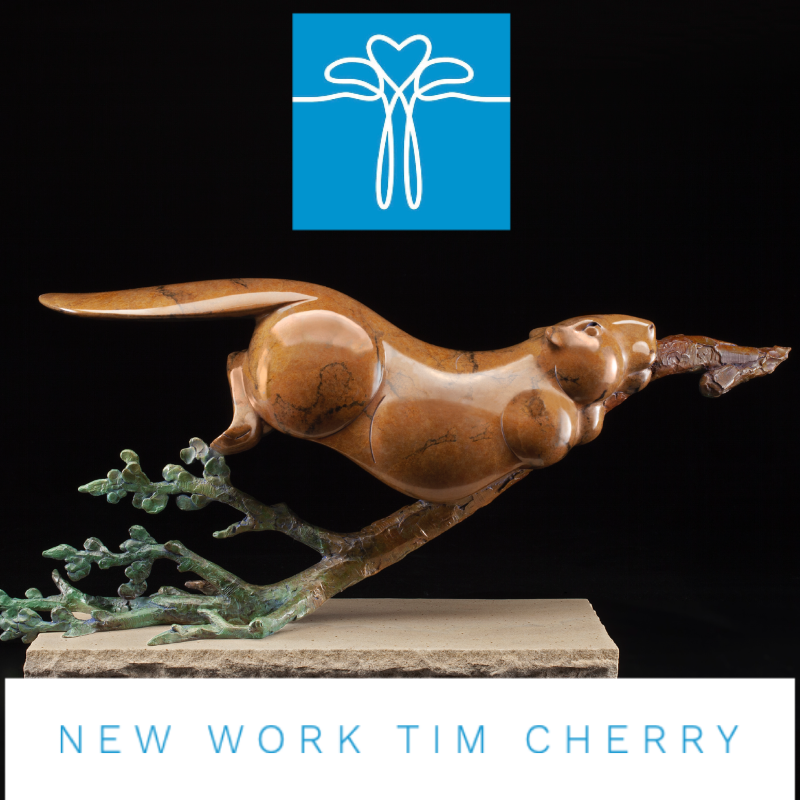 """NSG Fellow Tim Cherry has just released a new sculpture """"Beaver Retriever"""", click here to order at a special introductory price and be among the first to add this gorgeous statement of grace and beauty of nature to your fine art collection.   Special introductory price offering through June 30, 2020 - enter code PREDORDER at checkout"""