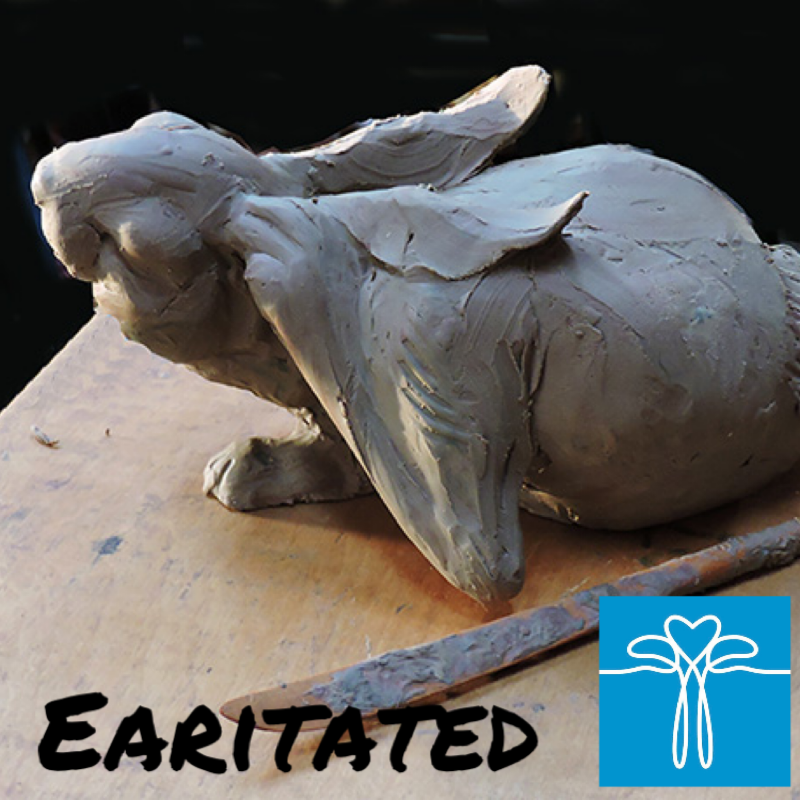 """A sweet new piece of one of our little Springtime buddies that I'm sure you're all seeing hopping about yards.    This artwork,shown here in clay can be pre-ordered from our special section on our online store. These are listed with introductory pricing, with a $400 savings! so, it's truly a great time to add this renowned wildlife artist to your collection, if you are able.    ORDERS ONLY: Sandy's foundry in Lander, WY is currently open at a reduced staff, so please expect 8-12 weeks for casting time from the time of your order. With your Sales Code """"PREORDER"""", shipping is free!    Thank you for #KeepingOurArtistsCreating #StaySafe #ArtAppreciatorsAreOurFavoritePeople"""
