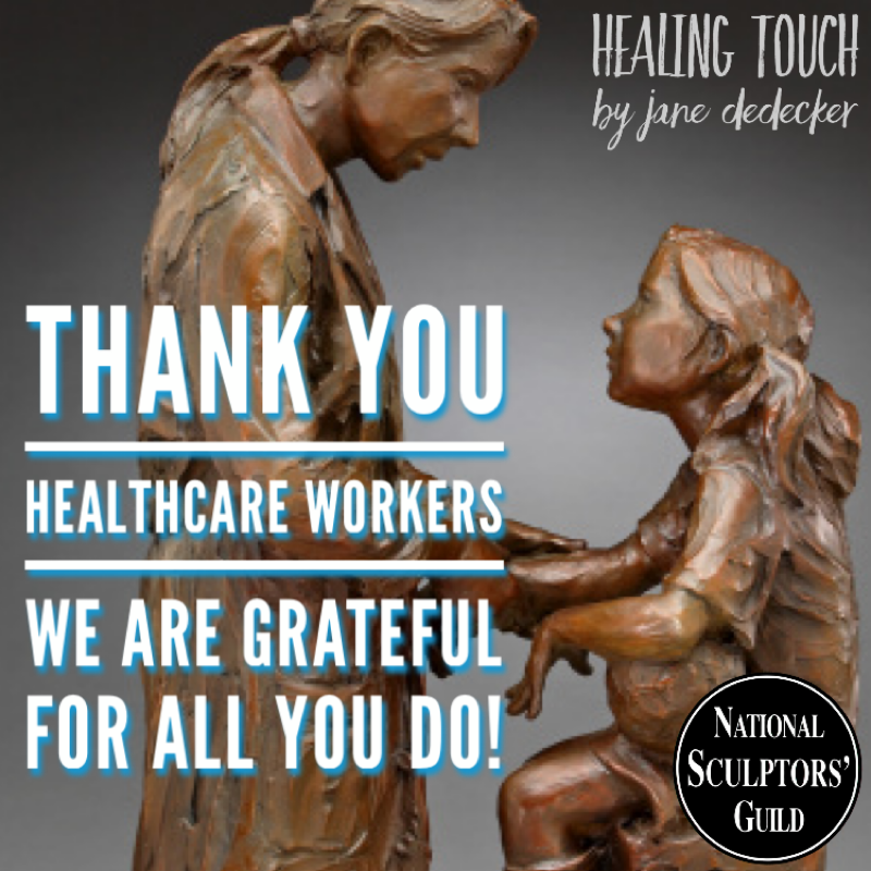 Thank you HEALTHCARE WORKERS we are grateful for all you do!