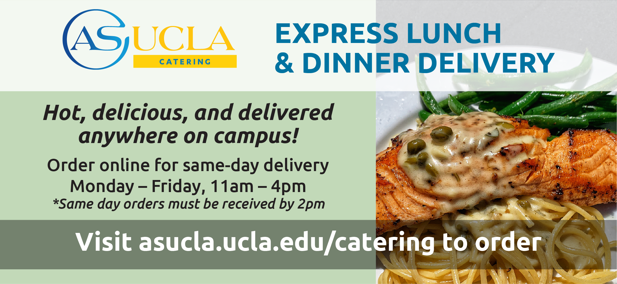 ASUCLA Catering - Express Lunch & Dinner Delivery
