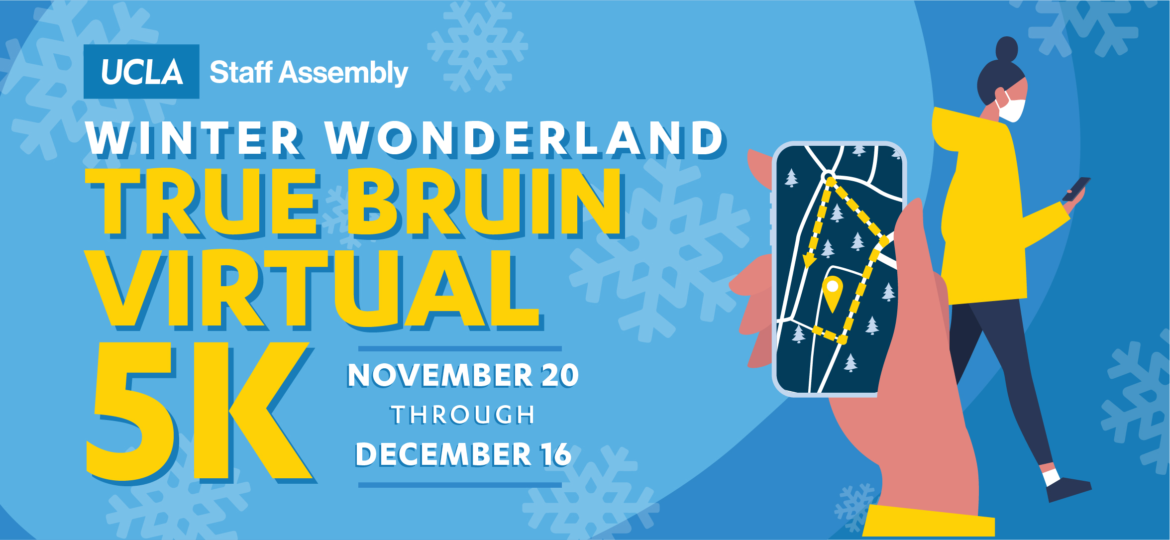 Winter Wonderland True Bruin Virtual 5K