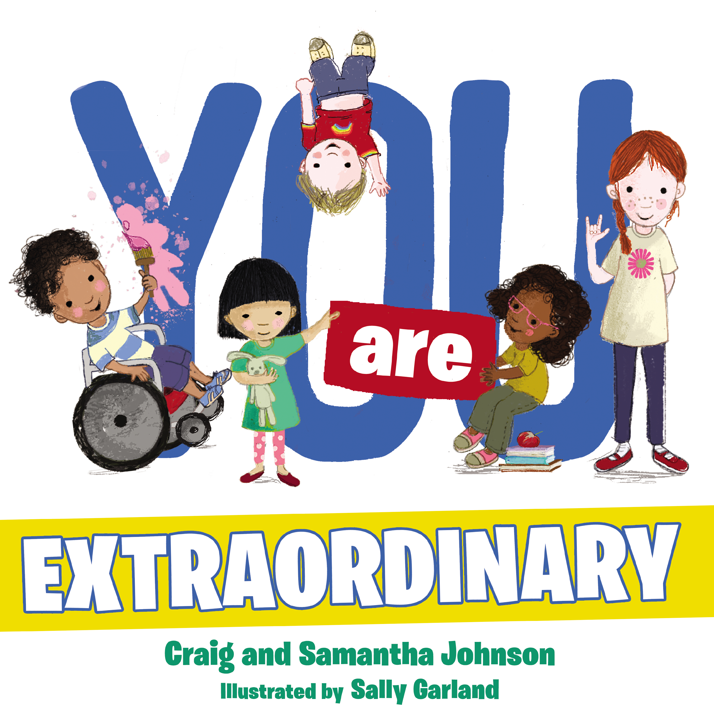 Cover of Children's book You Are Extraordinary