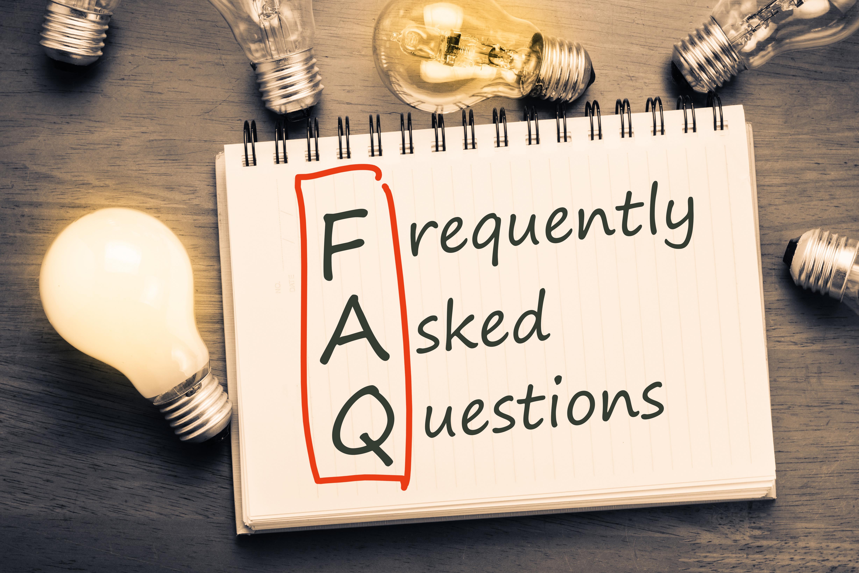 Ein Symbolbild für FAQ
