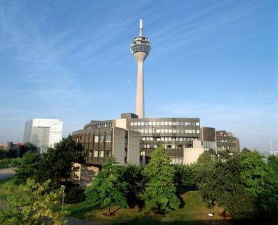 Der Landtag in Düsseldorf