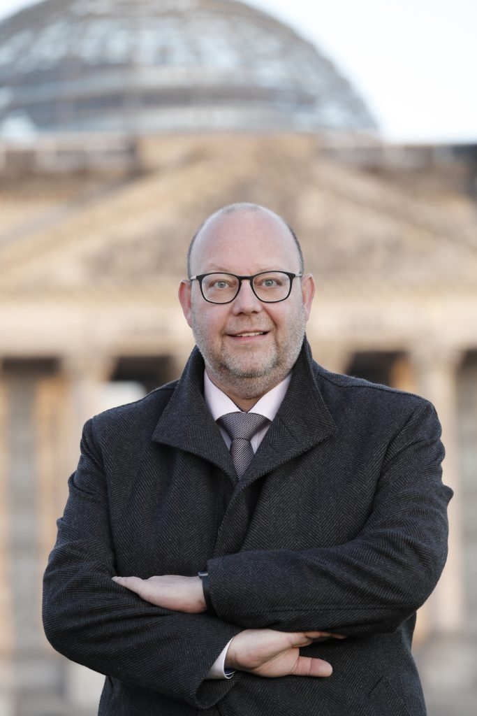 Olaf in der Beek ist Bundestagsabgeordneter aus Bochum, Pressefoto