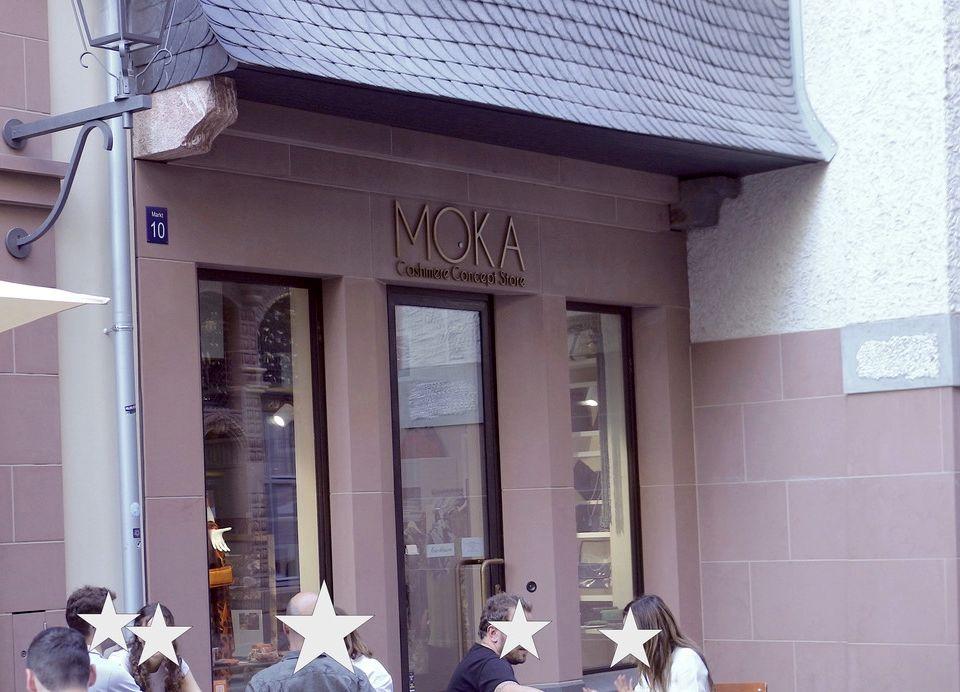 Der MOKA Cashmere Store in der neuen Frankfurter Altstadt