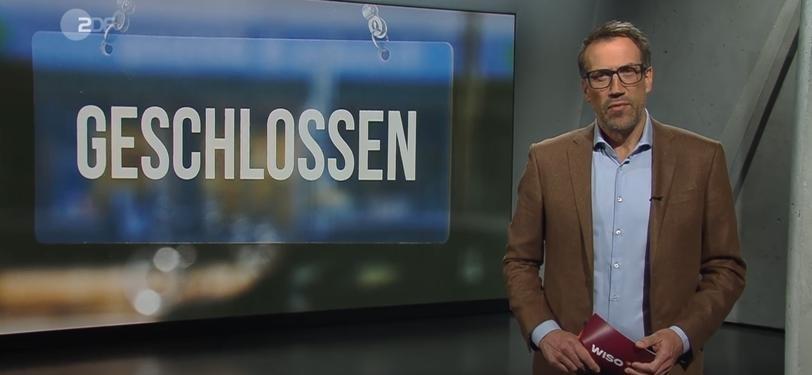 Screenshot aus der Sendung