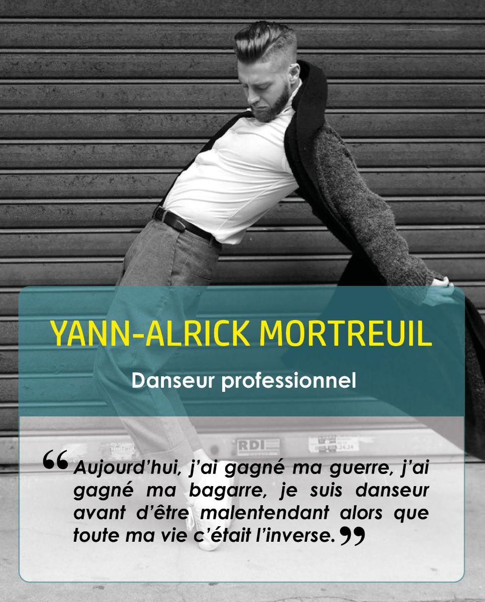 Yann-Alrick Mortreuil, danseurprofessionnel