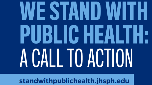 We stand with public health: a call to action