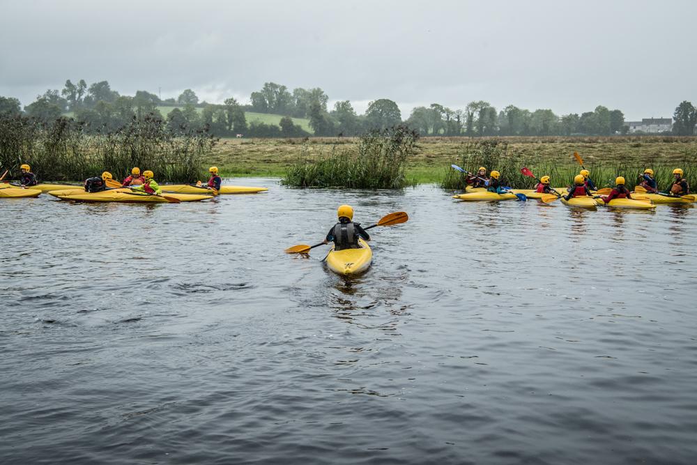 Across and In-Between_canoe group_photographer Helen Sloan