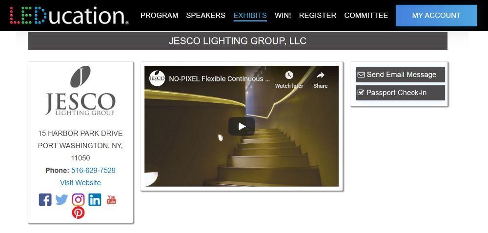 JESCO's LEDucation webpage