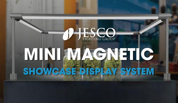MSD Mini Magnetic Showcase Display System