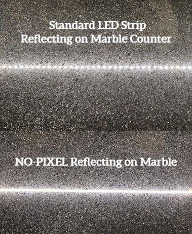 NO-PIXEL v. Standard Strip Reflections