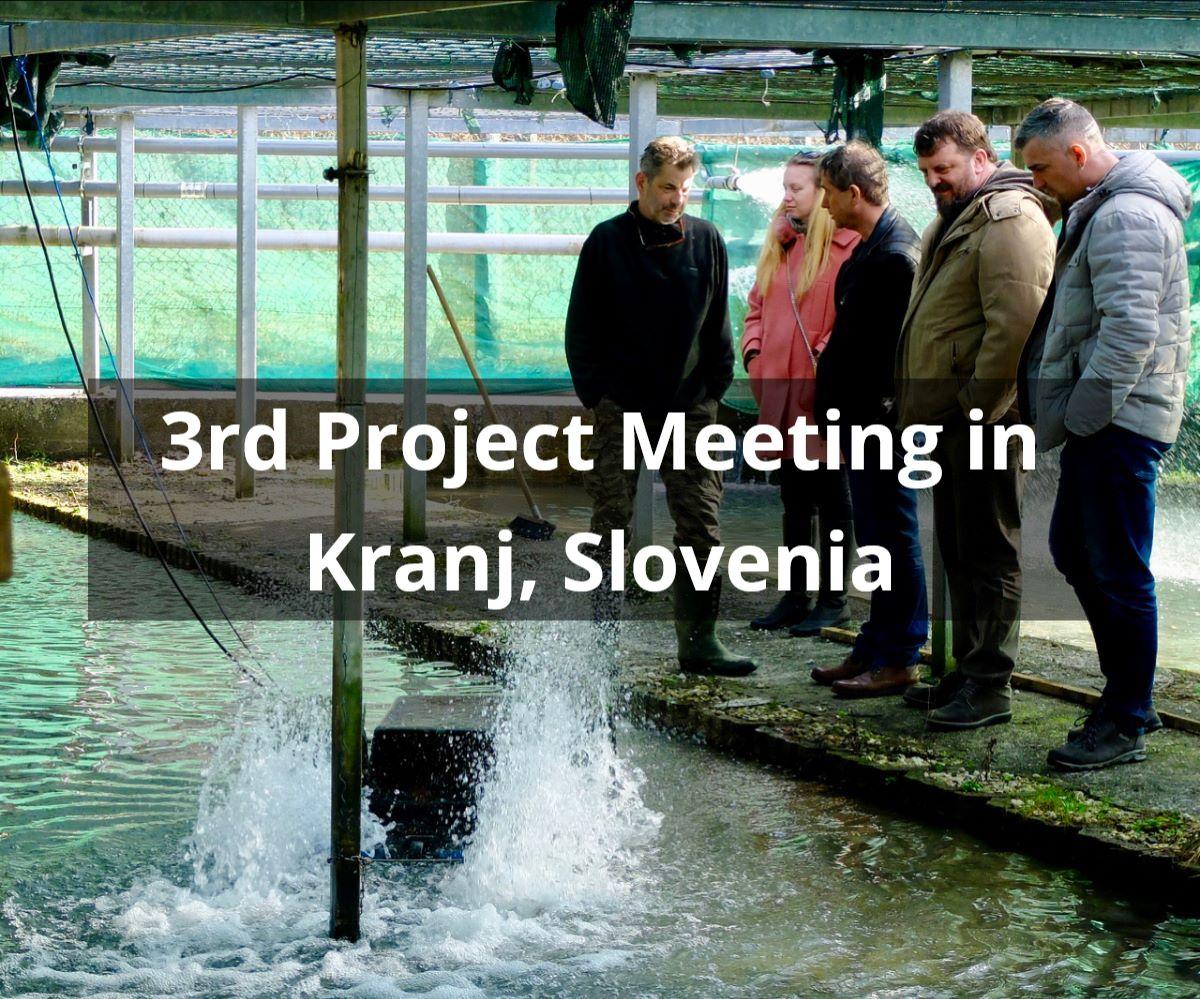 3rd Project Meeting in Kranj, Slovenia