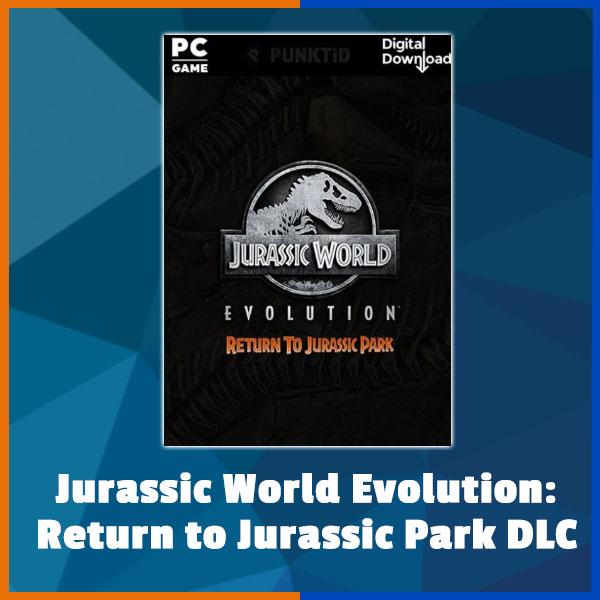 Jurassic World Evolution - Return To Jurassic Park DLC