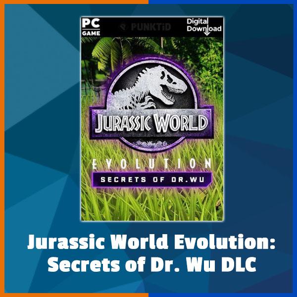 Jurassic World Evolution - Secrets of Dr. Wu DLC
