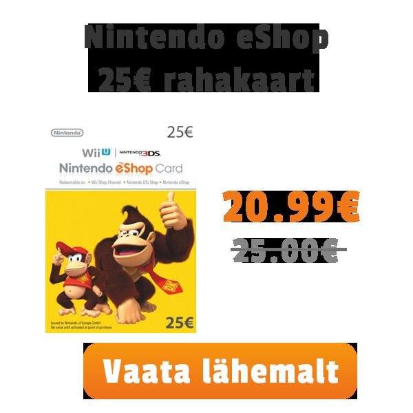 Nintendo 25€ kaart
