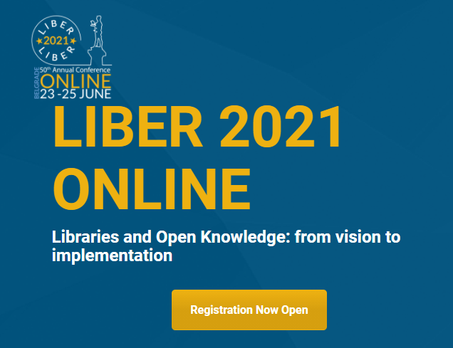 LIBER conference logo