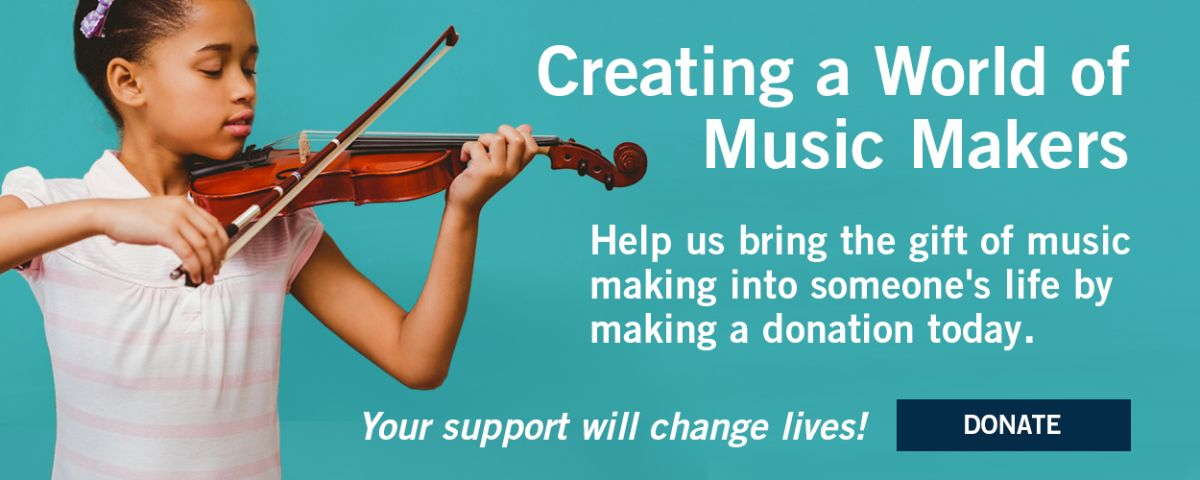 Donate to The NAMM Foundation