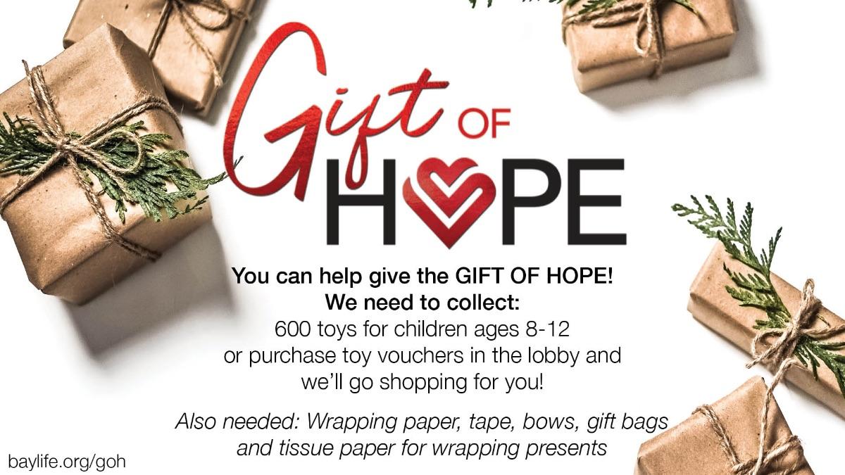 Gift of Hope 2020 | baylife.org/goh